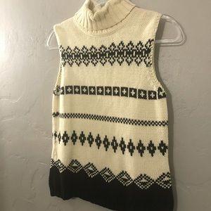 Ann Taylor Loft Sleeveless Sweater In GUC